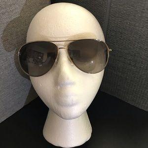 "NWOT - Jimmy Choo ""Jewly"" metal aviator sunglasses"